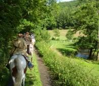 randonnee a cheval 16 vom mullerthal in den luxemburger westen 8 km
