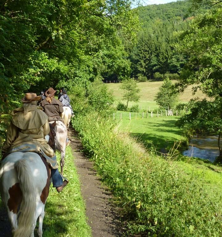 horseride tour 16 vom mullerthal in den luxemburger westen 8 km