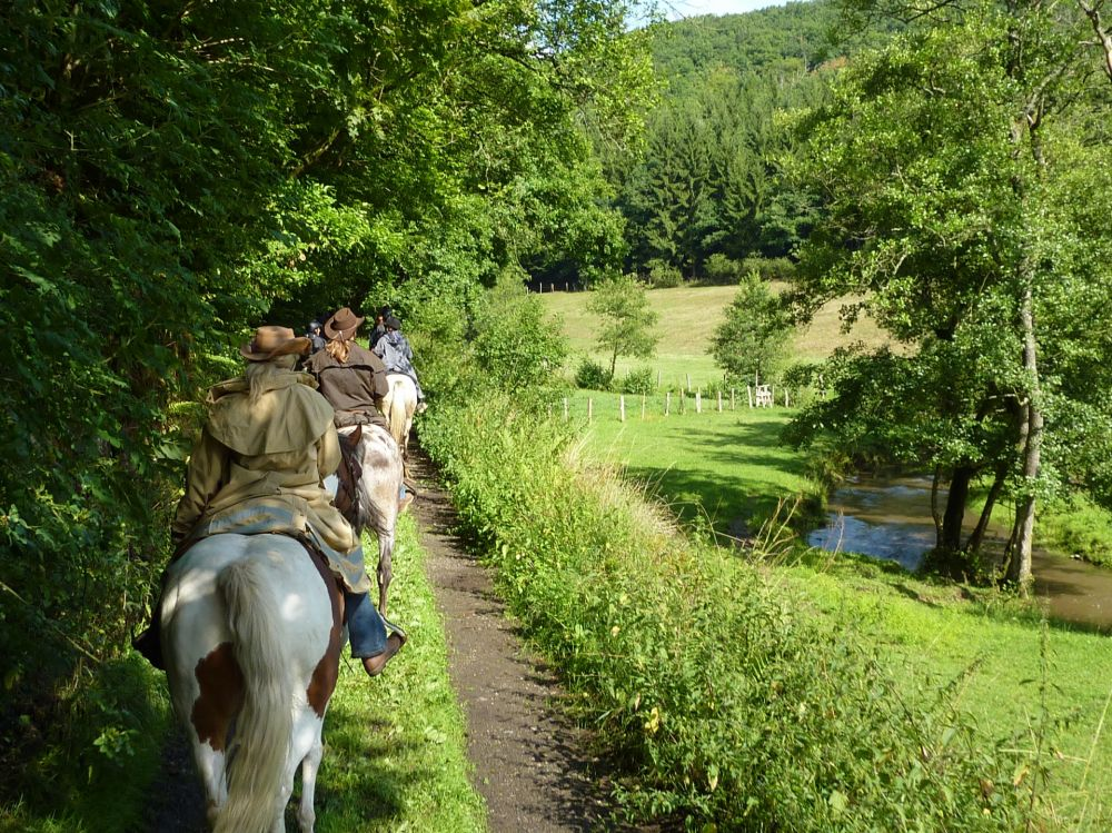 paardrijden tour 16 vom mullerthal in den luxemburger westen 8 km
