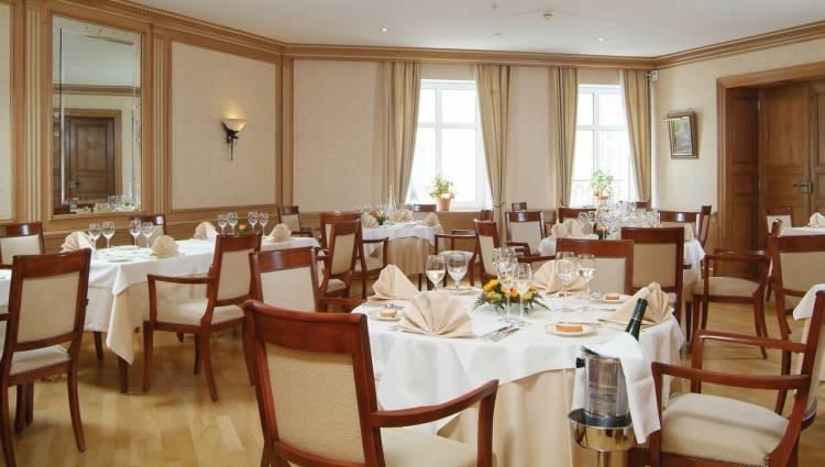 restaurant hostellerie de la basilique