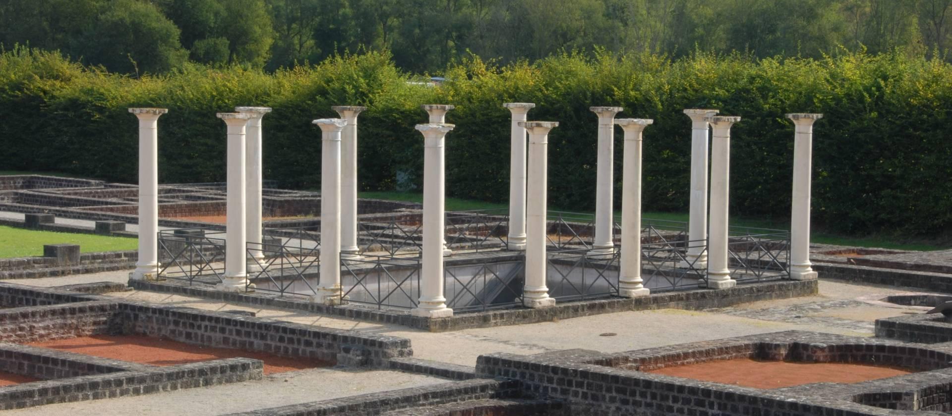 Geführte Besichtigung der Römischen Villa - ORT Mullerthal