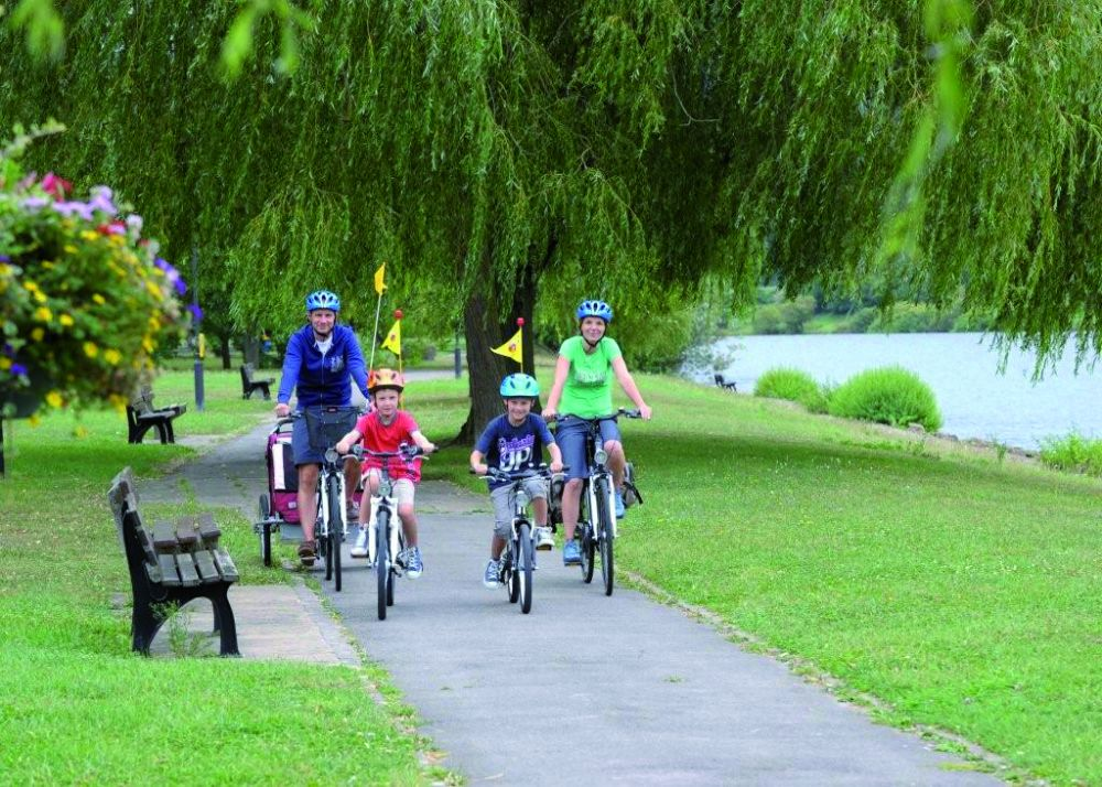 Cycle tour from station to station Steinheim - Wasserbillig