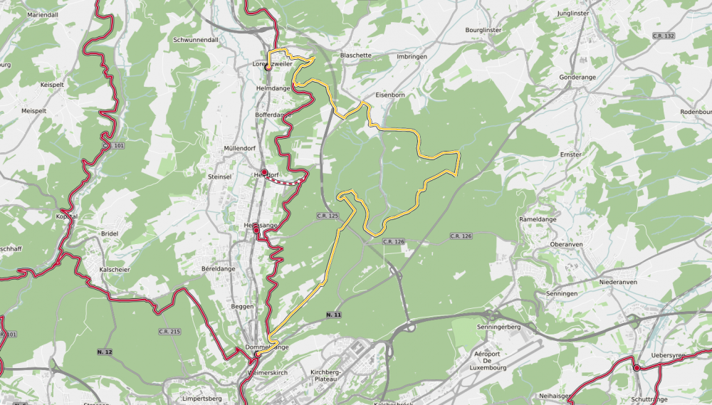 17 station to station lorentzweiler dommeldange