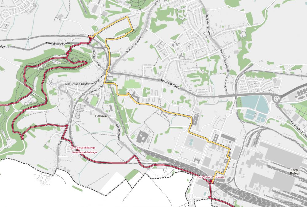 station to station belvaux soleuvre belval universite