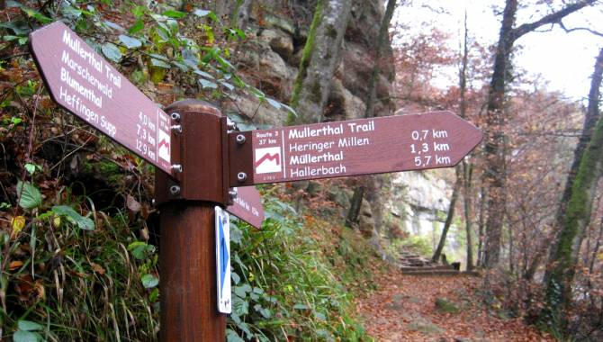 signalisation mullerthal trail