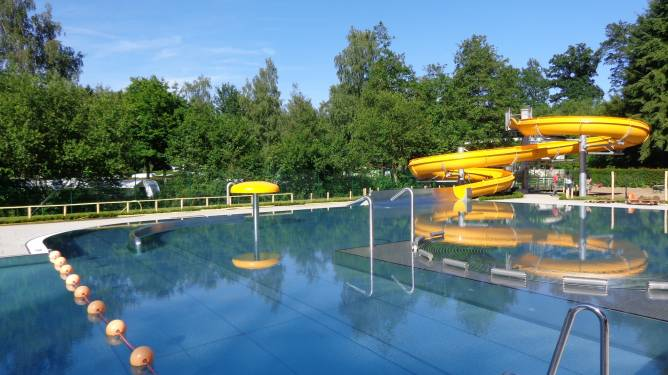 Open Air Swimming Pool Troisvierges Visit Luxembourg