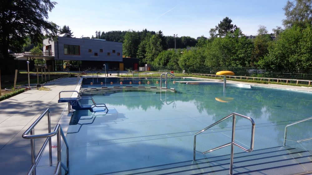 Troisvierges, open-air swimming pool
