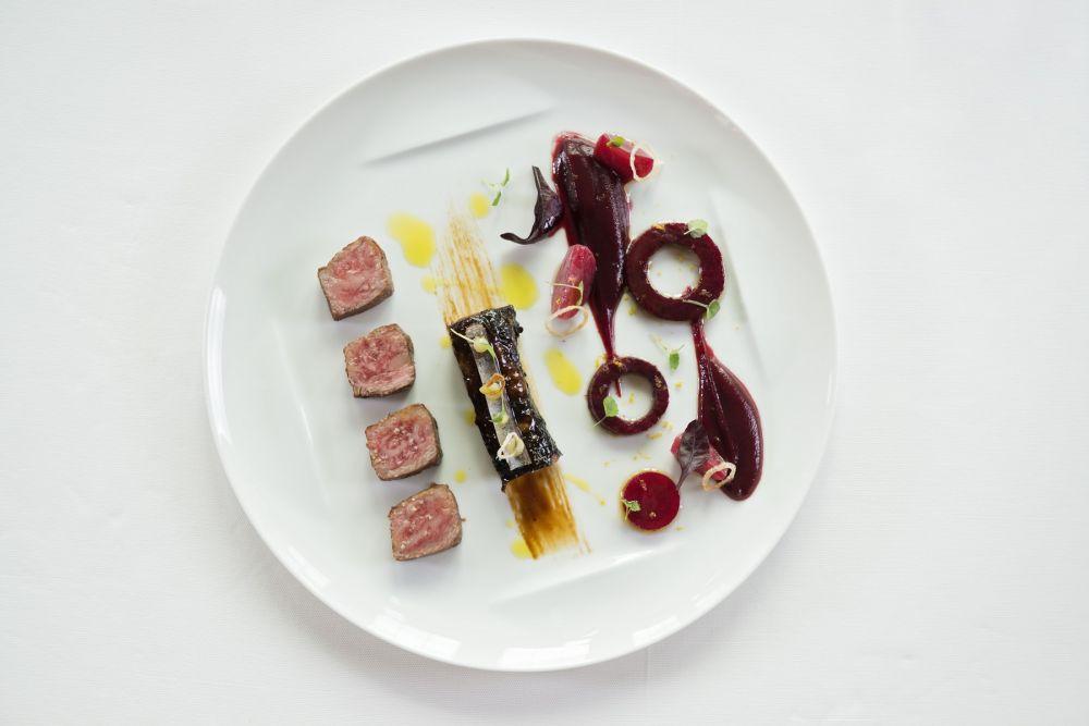 boeuf wagyu la crsitallerie restaurant gastronomique hotel le place d armes luxembourg