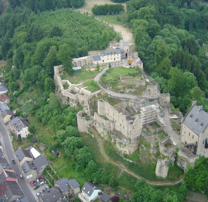 luftaufnahme castle juli 2008