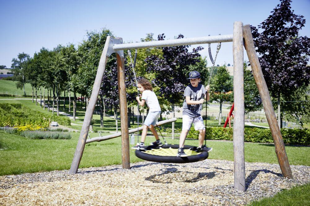 park sennesraich aire de jeux lelljer gaart s.c.