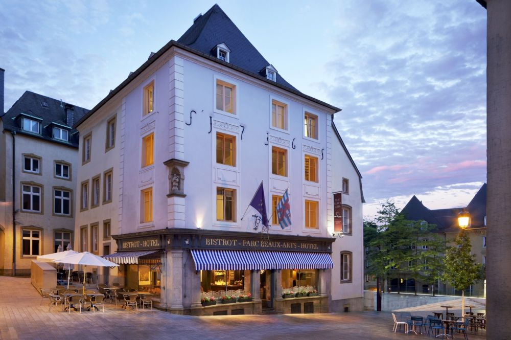 Hotel restaurant parc beaux arts visit luxembourg for Designhotel luxemburg
