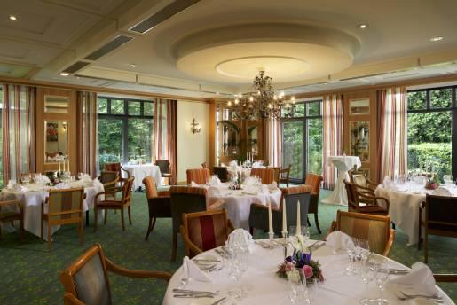 bl conference wedding dinner set up