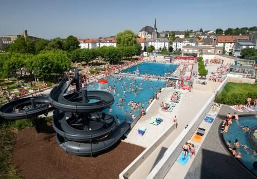 Schwimmb der und wellness zentren visit luxembourg for Bettembourg piscine