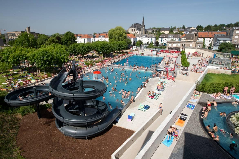 piscine en plein air differdange oberkorn visit luxembourg