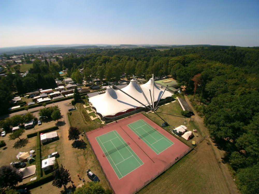 tennis camping beaufort