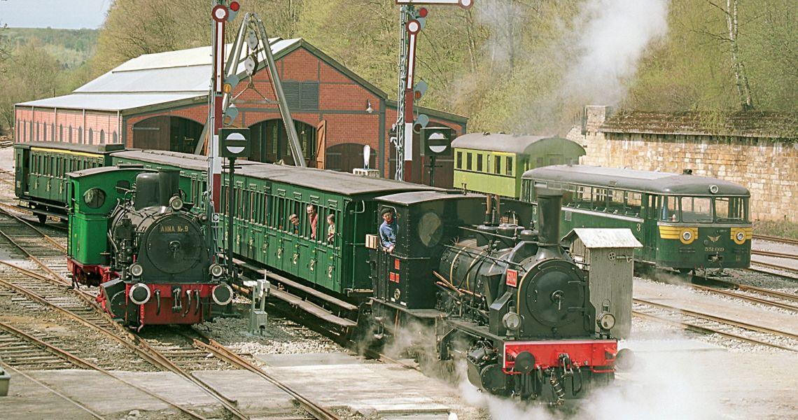 train 1900 fond de gras