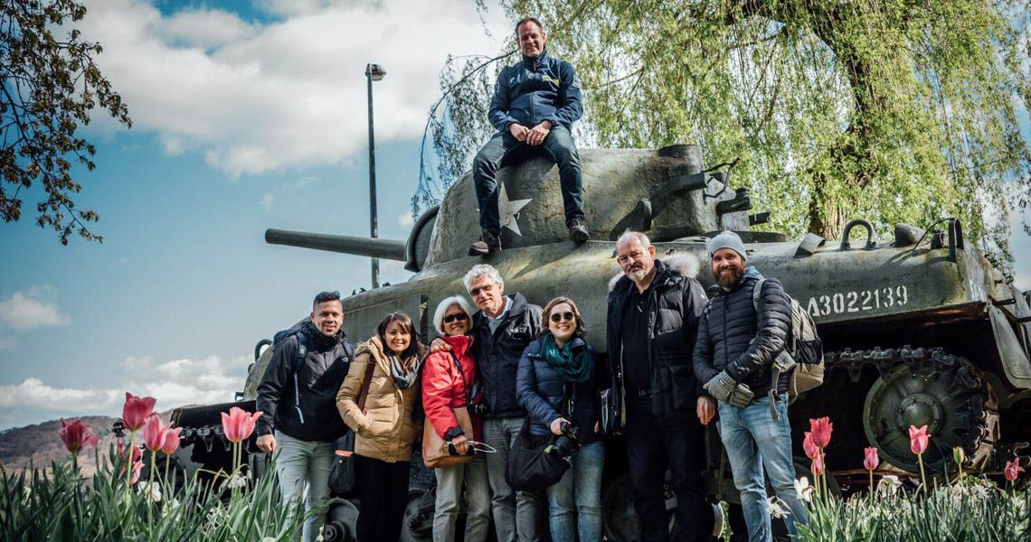 visite guide e patton national liberation monument lft