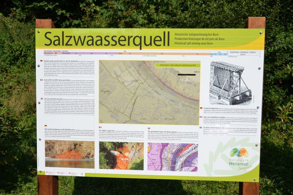 6 small geopark tour salzwaasserquell