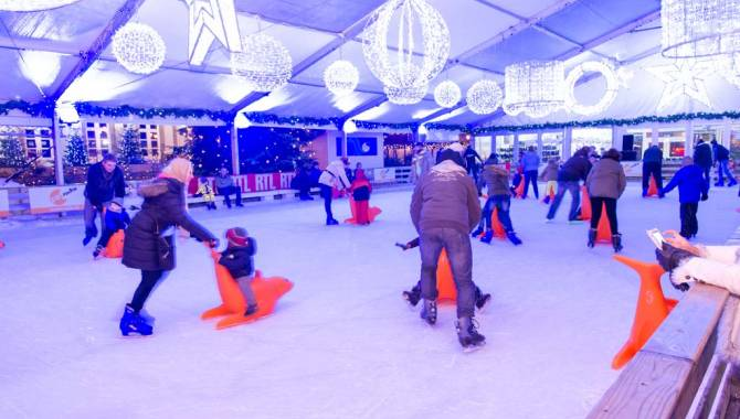 Knuedler on Ice - Patinoire, Luxembourg ville