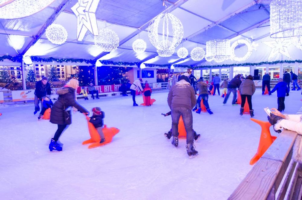 Knuedler on Ice - Skating rink, Luxembourg City