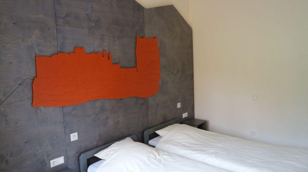 youth hostel larochette bungalow room