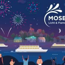 Mosel - Licht und Flammen