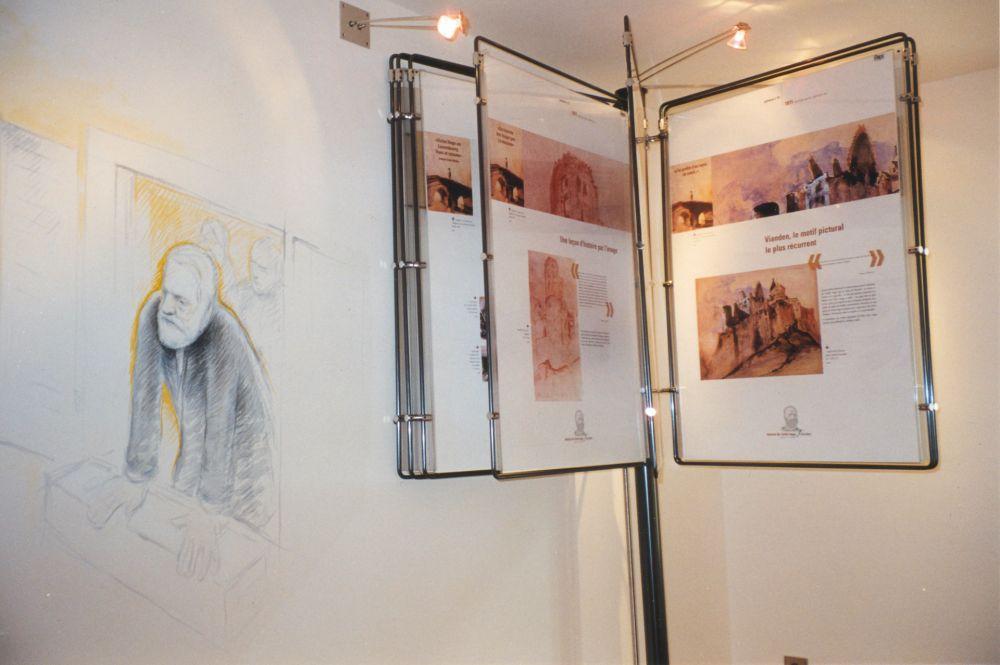 victor hugo house  literary museum vianden inside 1