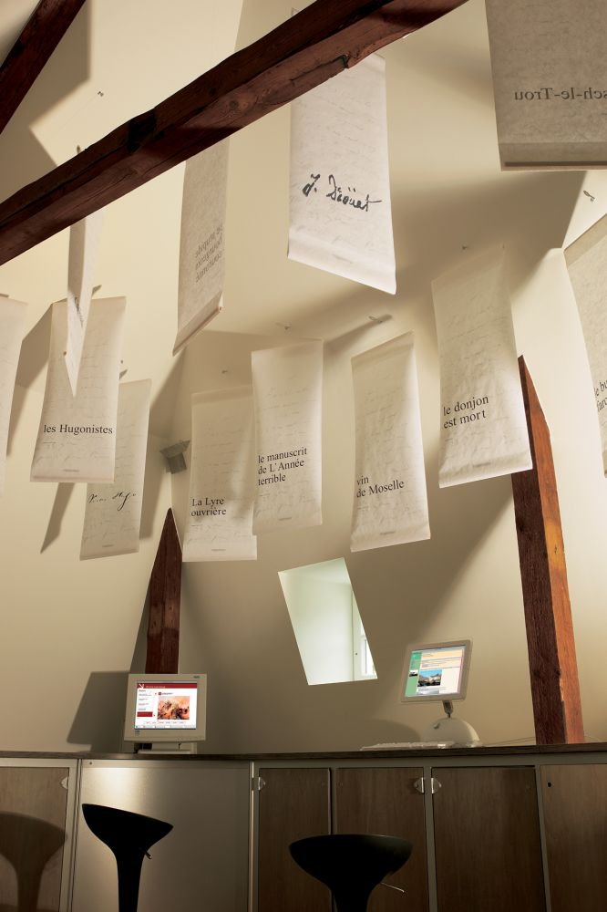 victor hugo  musee litteraire vianden interieur 2