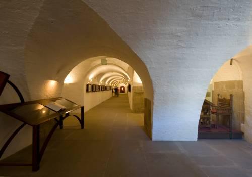 museum of the abbey echternach inside