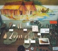 prehistorisch museum echternach binnen