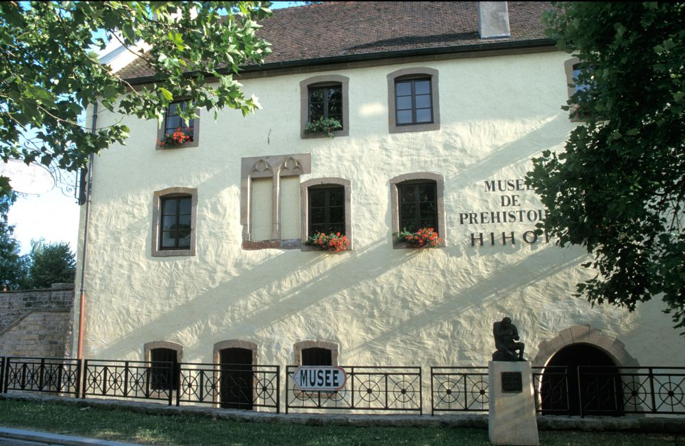 museum of prehistory echternach outside