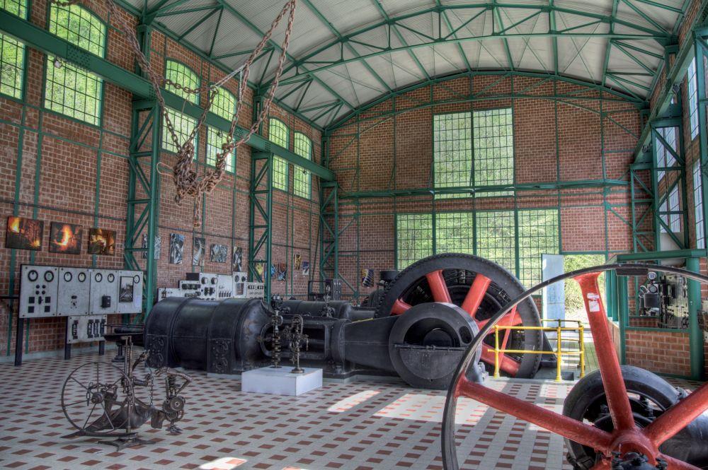 ndustrie und eisenbahnmuseum fond de gras innen 2