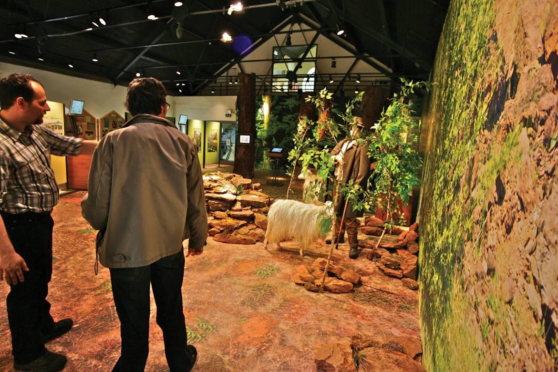 museum of the cockerill mine at ellergronn inside 1