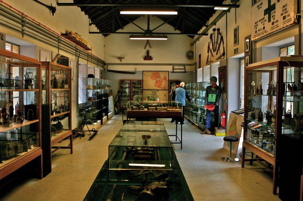 museum of the cockerill mine at ellergronn inside 2