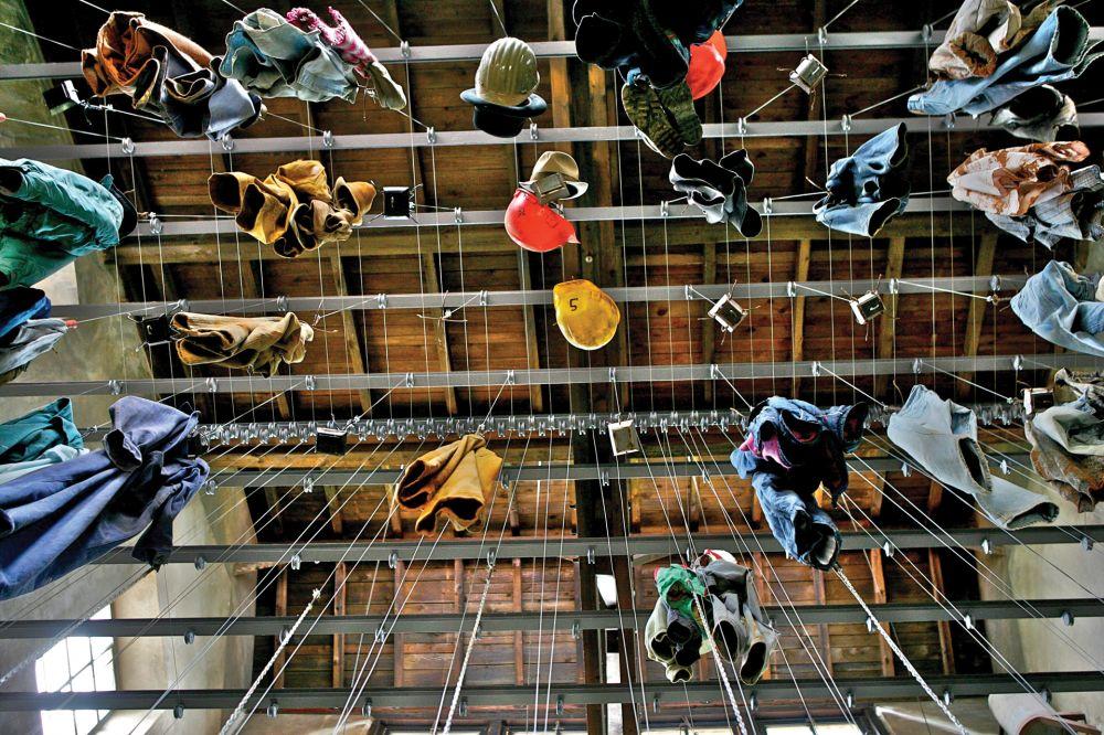 museum of the cockerill mine at ellergronn inside