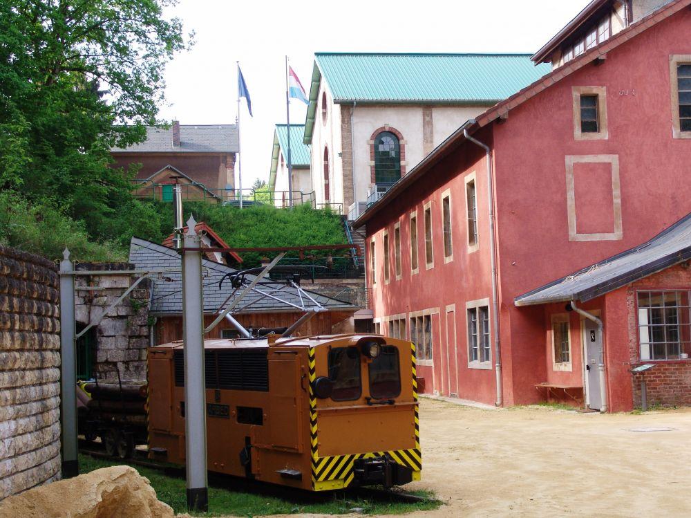 museum of the cockerill mine at ellergronn outside 4