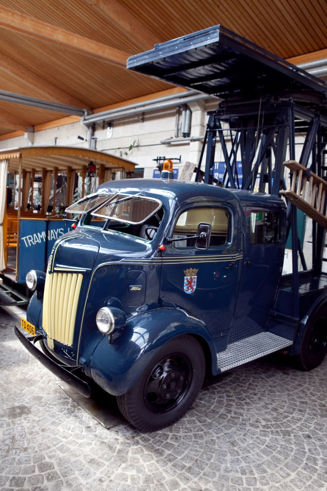 tram and bus museum luxembourg city inside 1