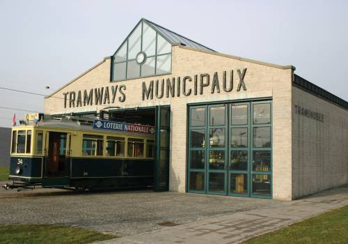 straßenbahn und busmuseum luxemburg stadt aussen 1