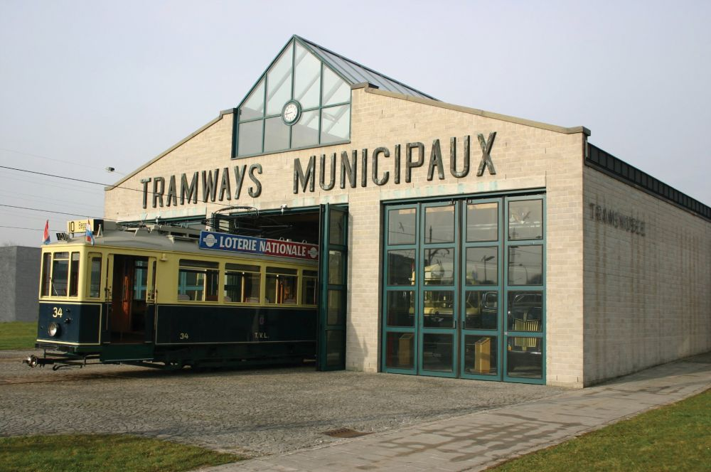 tram and bus museum luxembourg city outside 1