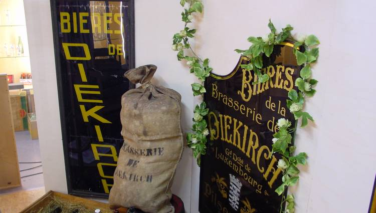 beermuseum of the diekirch brewery inside