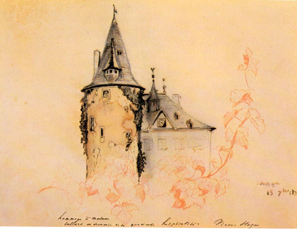 Peinture du chateau