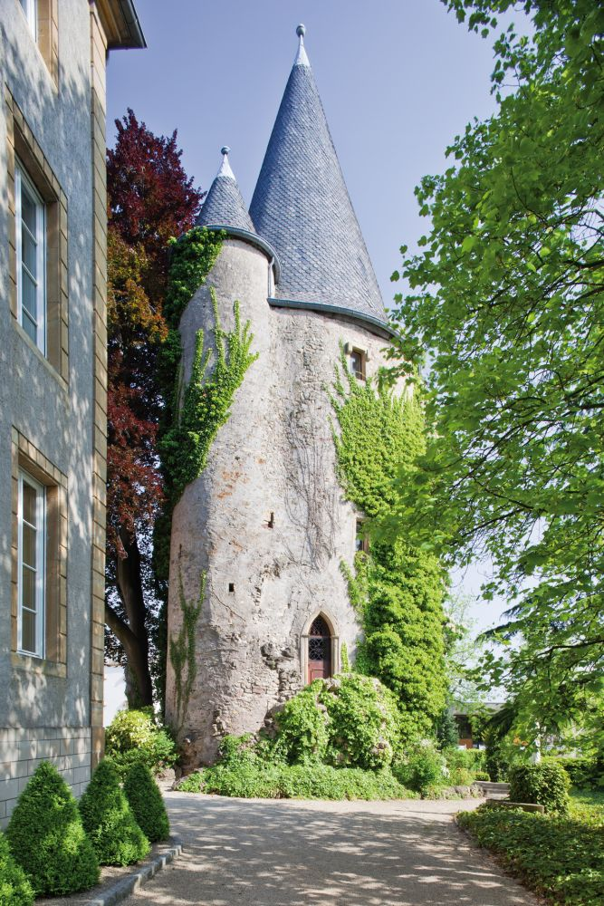 Schengen Castle tower