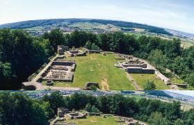 306 dudelange ruines chateau