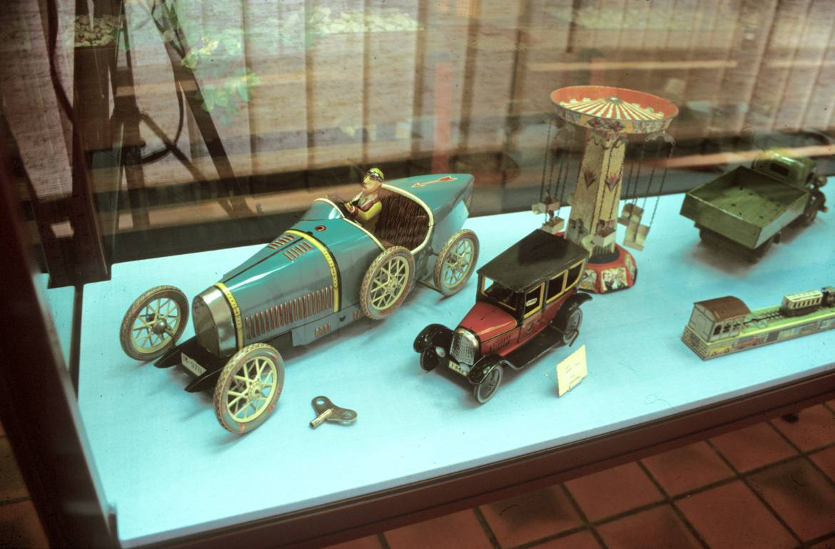 museum of toys clervaux inside