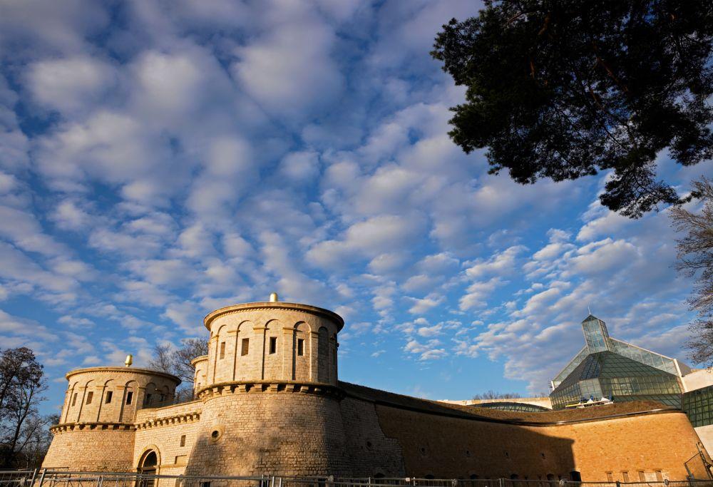 musee drai eechelen  forteresse histoire identites exterieur