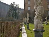 Ansembourg Castle sculptures