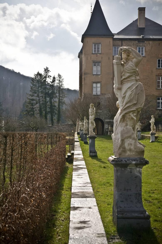 Schloss Ansembourg Skulpturen
