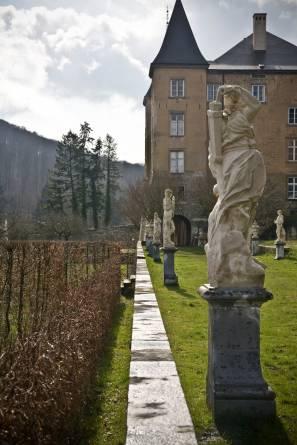 Ansembourg Castle sculptures