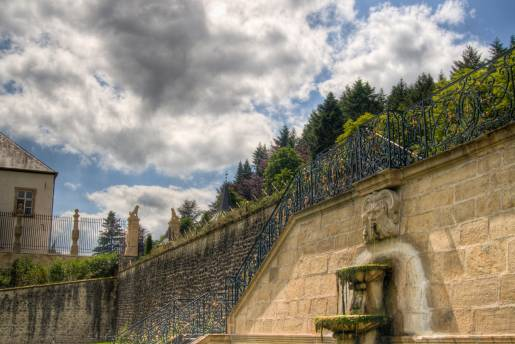 Ansembourg Castle fountain