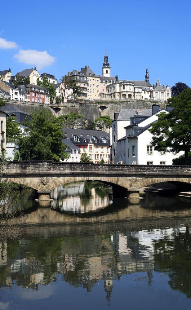Luxemburg-Grund Viertel